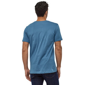 Patagonia Fitz Roy Scope Organic T-Shirt Herren woolly blue